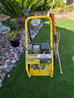 Karcher - 2400 PSI Gas Pressure Washer - Works perfectly - I can test it - $325.00 dlls for Sale in Lake Elsinore, CA