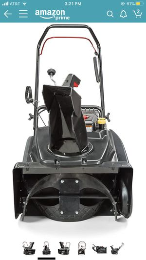 "Briggs and Stratton 22"" single stage snow blower-brand new for Sale in Richland, WA"