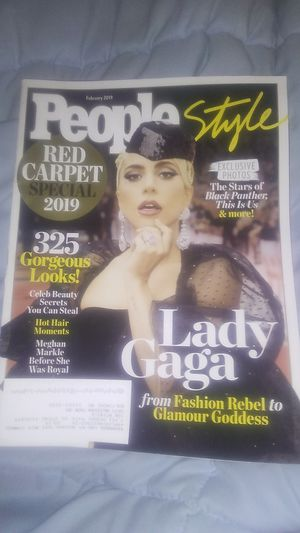 Lady Gaga rare magazine People February 2019 for Sale in Baltimore, MD