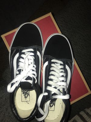 Vans Black and White for Sale in Reno, NV