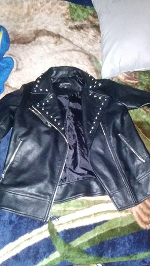 International concepts womens leather jacket for Sale in Phoenix, AZ