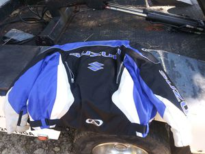 Suzuki motorcycle jacket for Sale in Villa Rica, GA