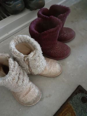 Toddler girl boots for Sale in East Douglas, MA