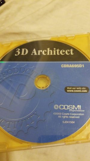 3D Architect, CDRA695D1 for Sale in Port Richey, FL