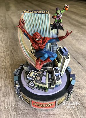 Collectible Items. Rare! Franklin Mint Amazing Spider-Man Hand Painted Limited Edition #CP01048 New!!! for Sale in Kissimmee, FL
