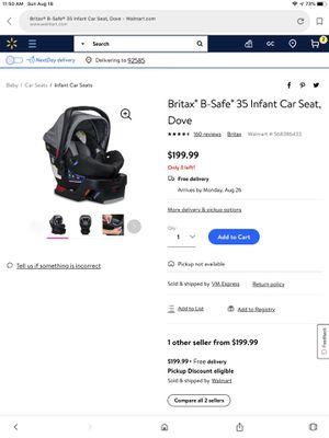 Infant Car Seat for Sale in Hemet, CA