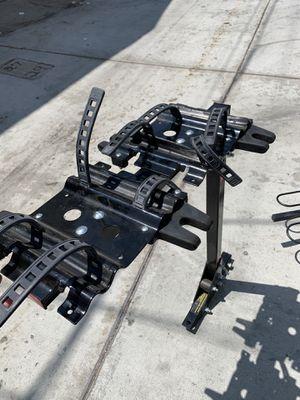 Heavy Duty 4 bike rack for 2 inch trailer hitch for Sale in San Diego, CA