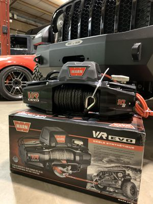 Warn VR10s synthetic Winch brand new in box 3 available $699 each Sale price no other offers accepted for Sale in Joliet, IL
