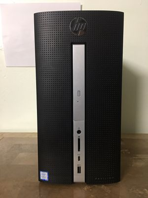 HP Pavilion Core i3 Corei3 7th gen 8GB RAM 1TB HDD HDMI Windows 10 desktop computer for Sale in Miramar, FL
