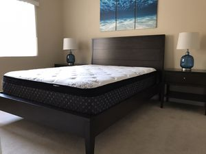Beautiful brand new stylish high quality 3pc queen bedroom set for Sale in Oceanside, CA