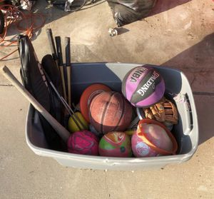 Box of Balls for Sale in Fontana, CA