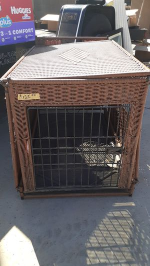Nice Wicker Dog Crate for Sale in Chandler, AZ