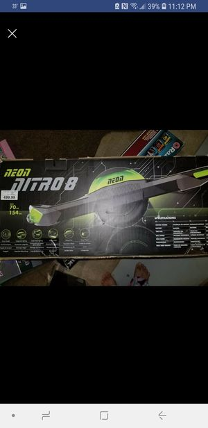 Neon nitro8 electric 1 wheel hoverboard over $450+tax originally $135 BRAND NEW NEVER OPENED/USED for Sale in Parma, OH