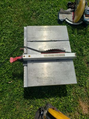 Craftsman table saw for Sale in Gallatin, TN