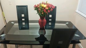 Double glass table for Sale in Westland, MI