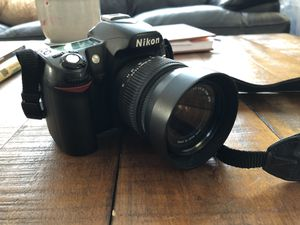 Nikon d80 bundle for Sale in HILLTOP MALL, CA