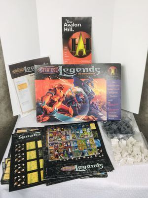 Vintage 1999 Avalon Hill Stratego Legends: The Shattered Lands Board Game for Sale in Pawtucket, RI