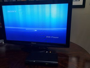 """TV Panasonic 39"""" and Sony DVD player for Sale in Pembroke Pines, FL"""