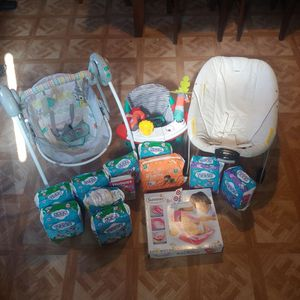 Diapers, Chair & More for Sale in Los Angeles, CA