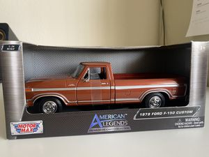 Diecast model 1979 Ford F-150 pickup truck 1:24 for Sale in Dewey, AZ