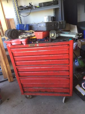 2 used rolling Tool boxes. Full of tools. for Sale in North Salt Lake, UT