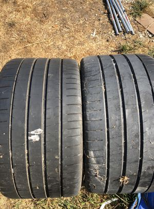 Michelin pilot sport 295/30r/19 (2) used tires for Sale in Hayward, CA