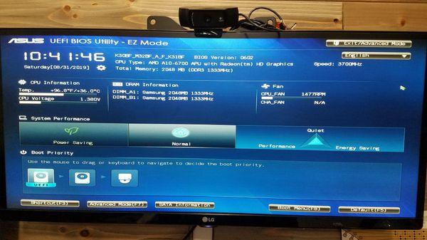 ASUS M32bf desktop computer