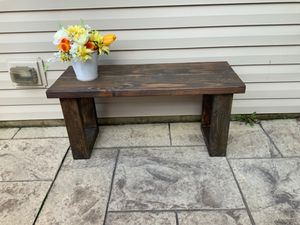 Bench Indoor Outdoor Rustic Farmhouse for Sale in Aurora, IL