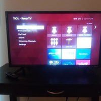 Tcl 32 inch smart tv works like new basically is has maybe 24 hrs of us for Sale in Akron, OH