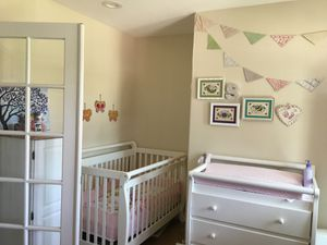 Crib and changing table for Sale in Corona, CA