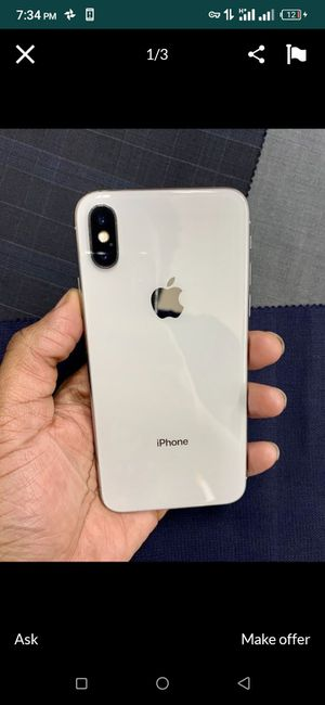 iPhone x for Sale in Auburn, WA