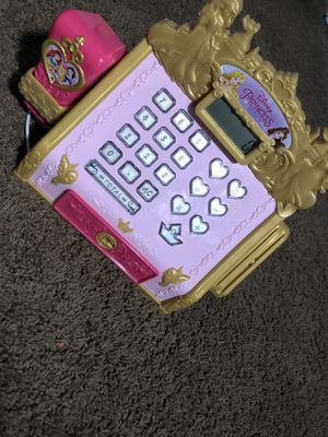 Disney princess cash register for Sale in Whittier, CA