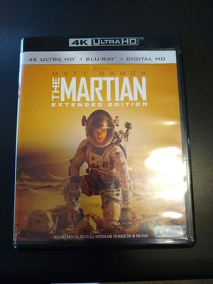 The Martian extended edition 4K Ultra HD plus Blu-Ray plus Dig H for Sale in Lilburn, GA