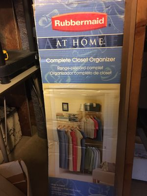 Rubbermaid Closet Organizer for Sale in Tacoma, WA