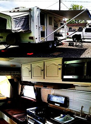 19ft. hybrid camper Rockwood ROO Forest River 09 for Sale in Tampa, FL