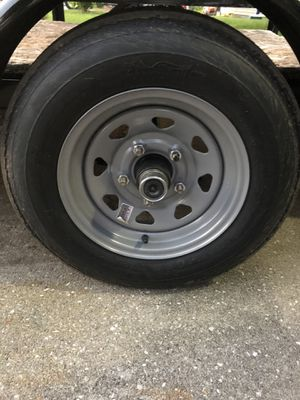 "12"" trailer tires and rims for Sale in Mooresville, IN"