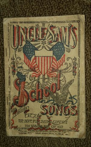 Uncle Sam's School Songs/Americana Vintage for Sale in Gaithersburg, MD