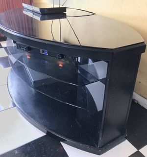 TV Media Console/Stand w/Glass Top [OBO] for Sale in Annandale, VA
