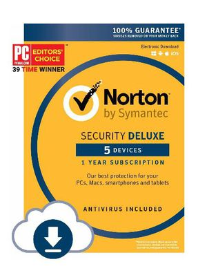 Brand New Norton deluxe for 5 devices-$30 for Sale in Tampa, FL