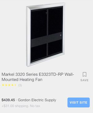 Markel forced air heater for Sale in New Roads, LA