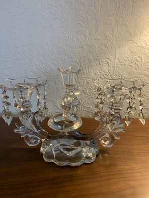 Vintage Crystal Candelabra for Sale in Los Angeles, CA