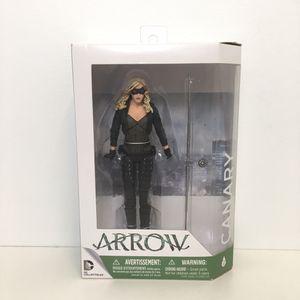 Arrow Tv Series Black Canary Dinah Laurel Lance Action Figure Dc Direct DC Collectibles! for Sale in Elizabethtown, PA