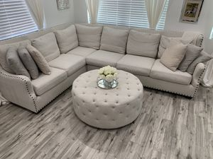 Modern Farmhouse Sectional Couch for Sale in Miami, FL