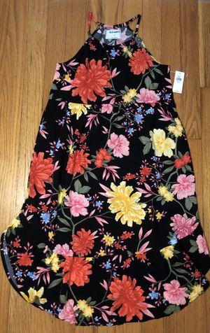 NEW Girls floral dress size MEDIUM 8/ Vestido NUEVO de niña talla MEDIANO(8) for Sale in Riverside, IL