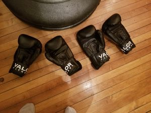 Boxing gloves and punching bag for Sale in Chicago, IL