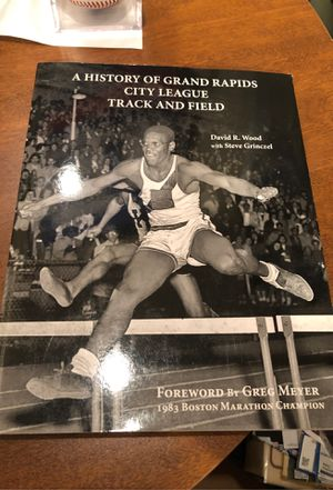 Like new A History of Grand Rapids City League Track and Field David Wood Steve Grinczel for Sale in Grand Rapids, MI