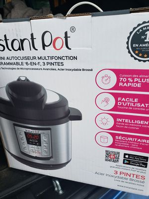 Instant pot for Sale in Carlsbad, CA