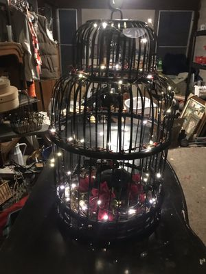 Light Up Bird Cage for Sale in Williamsport, PA