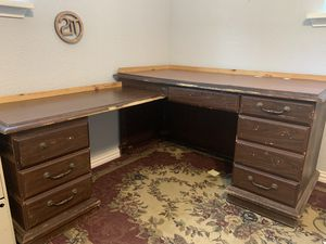 Desk & Filing cabinet for Sale in US