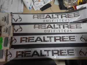 Realtree windshield decal for Sale in Pawtucket, RI
